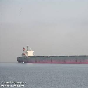 Bulk Carrier Stranded in Brazilian Port