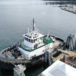 Foss Maritime Christens Tier 4 Tug