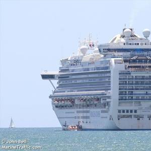 Coronavirus-hit Ruby Princess Departs Australia