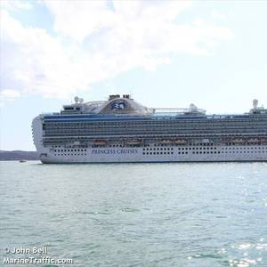 Ruby Princess Reaches the Philippines