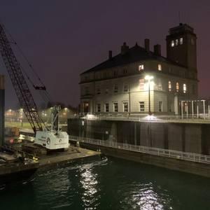 New Soo Lock Construction Begins