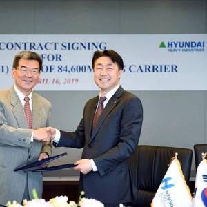 Hyundai LNG Shipping Orders Newbuild