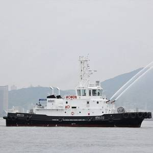 Kanagawa Dockyard Delivers Tug to Adani Vizhinjam Port