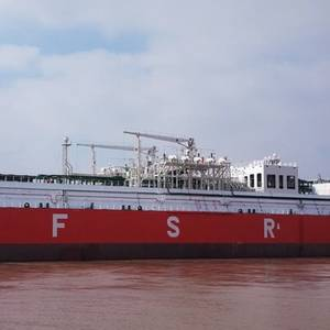 Largest Chinese-built FSRU Delivered
