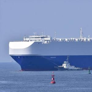 Car Carrier Helios Ray in Dubai for Assessment After Explosion