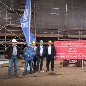 Keel Laid for National Geographic Resolution