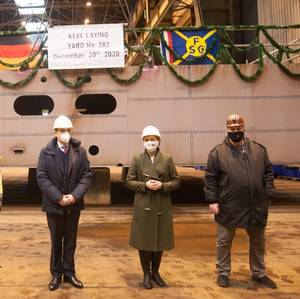 Construction of RoRo Ferry Powers Relaunch of Germany's FSG Shipyard