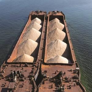 River Dance: Grounding Triggers Breakaway Barges