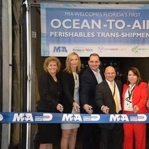 Florida's First Ocean-to-Air Perishables Shipment