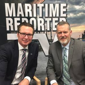 "Maritime Reporter TV Goes ""Mobile"" with DNV GL"