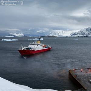 RRS James Clark Ross Makes Its Last Antarctic Call