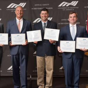 CSA Honors Crowley Vessels for Safe Ops