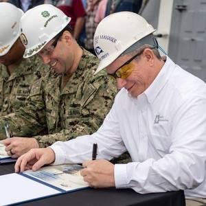 HII Delivers DDG 117 to U.S. Navy