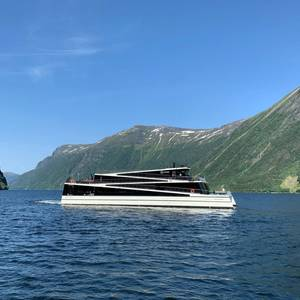 Electric Ferry Legacy of The Fjords Delivered in Norway