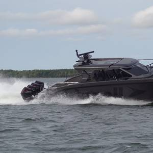 Marell M15 Quad Outboard Open High-Speed Interceptor Launched