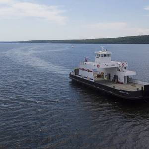 Video: Bay Shipbuilding Delivers Ferry for Washington Island Fleet