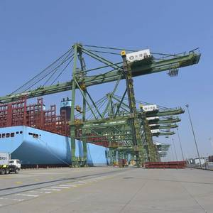 Maersk Line Deploys First Second-gen Triple-E