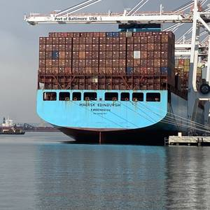 Port of Baltimore Bests Its Container Moves Record