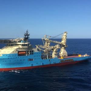 Maersk Supply Service Wins Total Contract
