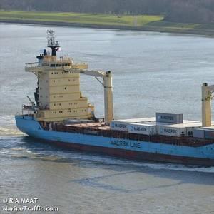 Dryad: Intruder Boards Maersk Ship in Congo