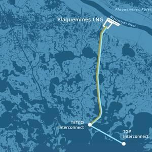FERC Approves Plaquemines LNG Facility