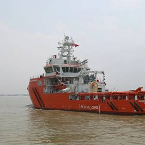 Sentinel Takes Delivery of New Rescue Vessel