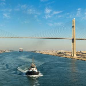 Suez Canal Revenues Rose in 2019
