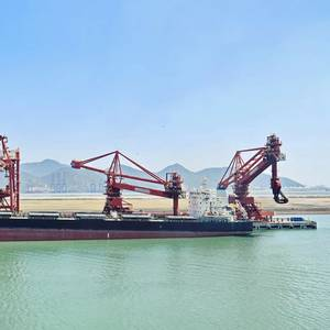 China's Iron Ore Imports Jump in April