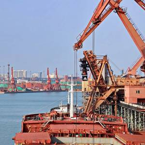 Chinese Demand Lifts Baltic Index to Record Weekly Gain