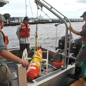AUV Mission in the Great Lakes