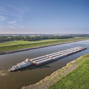 Tech File: Grain Monitoring System for Loaded Barges