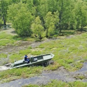 Rugged Propulsion System Designed for the Swamps