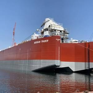 Bay Shipbuilding Delivers Self-unloading Barge to VTB