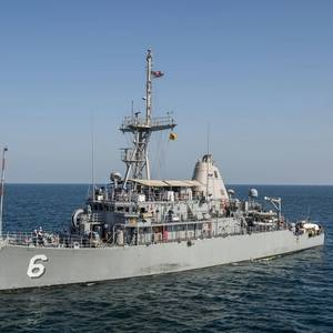 Fire Breaks Out Aboard USS Devastator
