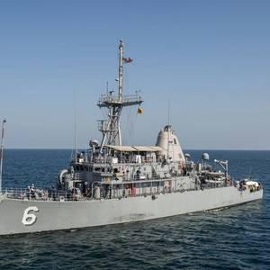 Fire Breaks Out Aboard USS Devastator