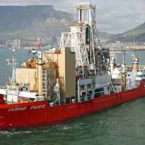 New Gensets for De Beers' Diamond Mining Vessel