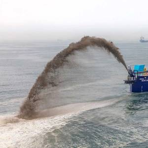 IHC Delivers New Dredge to Cameroon's Port of Douala