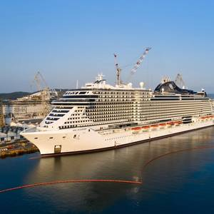 Largest Italy-built Cruise Ship Delivered