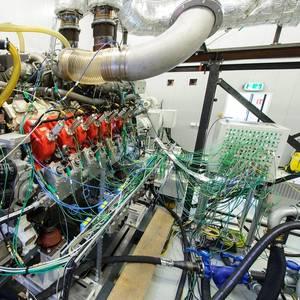Rolls-Royce Unveils MTU Gas Marine Engine