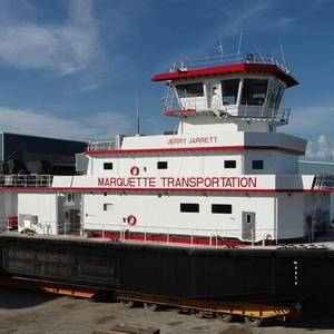 C&C Marine Delivers Towboat to Marquette