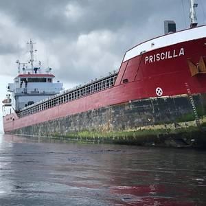 Consortium Appointed to  Refloat 'MV Priscilla'