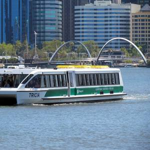 New Cat Ferry MV Tricia for Transperth Fleet