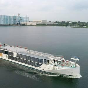 MV WERFTEN Delivers Its First Newbuild