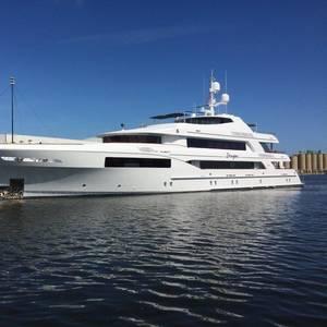 Gulf Coast Shipyard Delivers MY Imagine