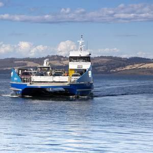 Schottel Propulsion for Aluminum Ferry Nairana