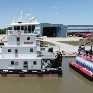 C&C Delivers New Towboat to Maritime Partners