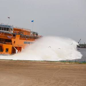 New Staten Island Ferry Launched at Eastern