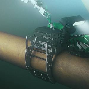 Subsea Robots in the Splash Zone