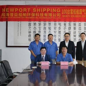 Newport Shipping Buys 100 Scrubbers