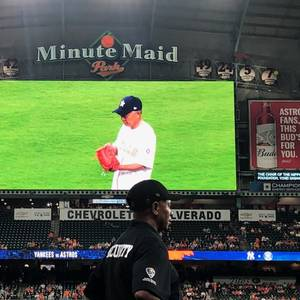 Nippon Foundation Chairman Sasakawa Delivers 'First Pitch'